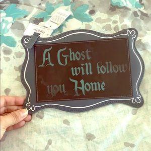 Disney park haunted mansion clutch